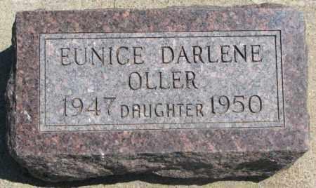 OLLER, EUNICE DARLENE - Lyman County, South Dakota | EUNICE DARLENE OLLER - South Dakota Gravestone Photos