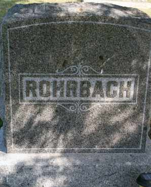 ROHRBACH, FAMILY - Lyman County, South Dakota | FAMILY ROHRBACH - South Dakota Gravestone Photos