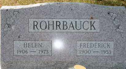 ROHRBAUCK, FREDERICK - Lyman County, South Dakota | FREDERICK ROHRBAUCK - South Dakota Gravestone Photos