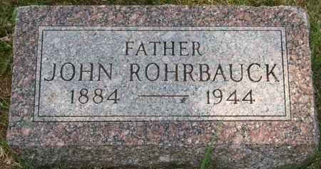 ROHRBAUCK, JOHN - Lyman County, South Dakota | JOHN ROHRBAUCK - South Dakota Gravestone Photos
