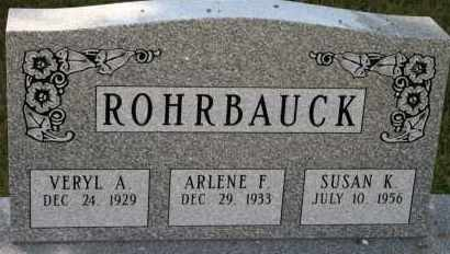 ROHRBAUCK, ARLENE F - Lyman County, South Dakota | ARLENE F ROHRBAUCK - South Dakota Gravestone Photos
