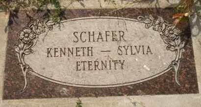 SCHAFER, KENNETH - Lyman County, South Dakota | KENNETH SCHAFER - South Dakota Gravestone Photos
