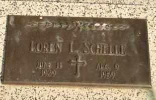 SCHELLE, LOREN L - Lyman County, South Dakota | LOREN L SCHELLE - South Dakota Gravestone Photos