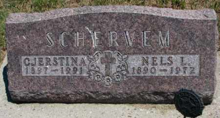 HILMOE SCHERVEM, CJERSTINA - Lyman County, South Dakota | CJERSTINA HILMOE SCHERVEM - South Dakota Gravestone Photos