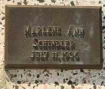 SCHINDLER, MARLENE ANN - Lyman County, South Dakota | MARLENE ANN SCHINDLER - South Dakota Gravestone Photos