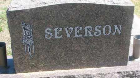 SEVERSON, FAMILY PLOT MARKER - Lyman County, South Dakota | FAMILY PLOT MARKER SEVERSON - South Dakota Gravestone Photos
