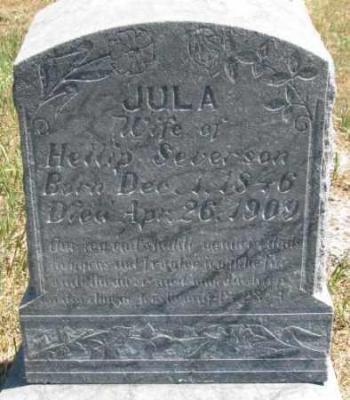 BJORANSEN SEVERSON, JULA - Lyman County, South Dakota | JULA BJORANSEN SEVERSON - South Dakota Gravestone Photos
