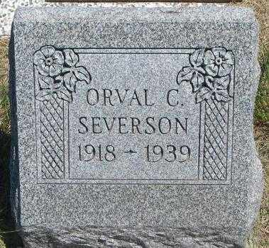 SEVERSON, ORVAL C. - Lyman County, South Dakota | ORVAL C. SEVERSON - South Dakota Gravestone Photos