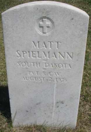 SPIELMANN, MATT - Lyman County, South Dakota | MATT SPIELMANN - South Dakota Gravestone Photos