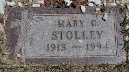 STOLLEY, MARY C. - Lyman County, South Dakota | MARY C. STOLLEY - South Dakota Gravestone Photos