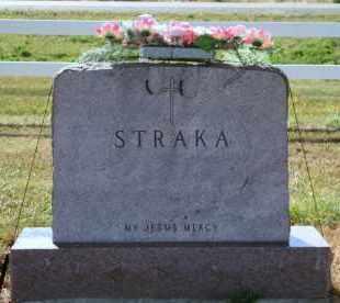 STRAKA, FAMILY - Lyman County, South Dakota | FAMILY STRAKA - South Dakota Gravestone Photos
