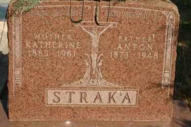 STRAKA, KATHERINE - Lyman County, South Dakota | KATHERINE STRAKA - South Dakota Gravestone Photos