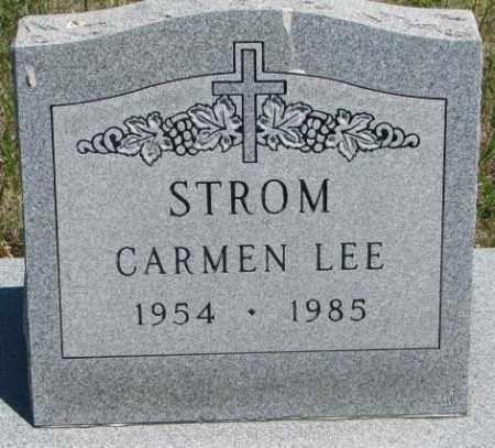 STROM, CARMEN LEE - Lyman County, South Dakota | CARMEN LEE STROM - South Dakota Gravestone Photos