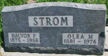 STROM, HALVOR P. - Lyman County, South Dakota | HALVOR P. STROM - South Dakota Gravestone Photos