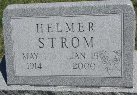 STROM, HELMER - Lyman County, South Dakota | HELMER STROM - South Dakota Gravestone Photos
