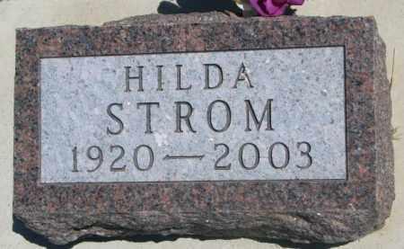STROM, HILDA - Lyman County, South Dakota | HILDA STROM - South Dakota Gravestone Photos
