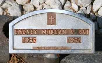 SURAT, SYDNEY MORGAN - Lyman County, South Dakota | SYDNEY MORGAN SURAT - South Dakota Gravestone Photos