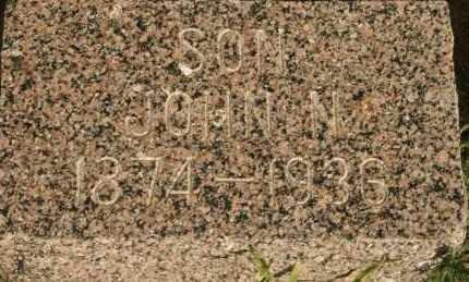 THEISEN, JOHN N - Lyman County, South Dakota | JOHN N THEISEN - South Dakota Gravestone Photos