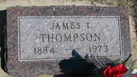 THOMPSON, JAMES T. - Lyman County, South Dakota | JAMES T. THOMPSON - South Dakota Gravestone Photos