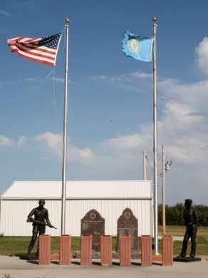 **VETERANS, MEMORIAL - Lyman County, South Dakota | MEMORIAL **VETERANS - South Dakota Gravestone Photos