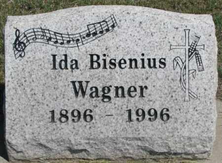 WAGNER, IDA BISENIUS - Lyman County, South Dakota | IDA BISENIUS WAGNER - South Dakota Gravestone Photos