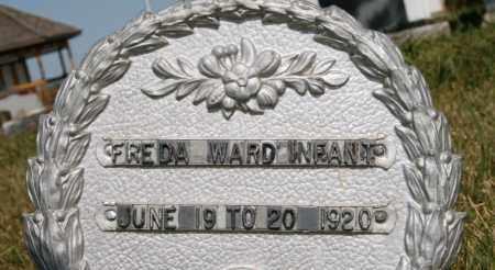 WARD, FREDA - Lyman County, South Dakota | FREDA WARD - South Dakota Gravestone Photos