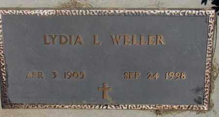 WELLER, LYDIA L. - Lyman County, South Dakota | LYDIA L. WELLER - South Dakota Gravestone Photos