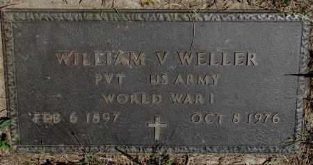 WELLER, WILLIAM V. (WW I) - Lyman County, South Dakota   WILLIAM V. (WW I) WELLER - South Dakota Gravestone Photos