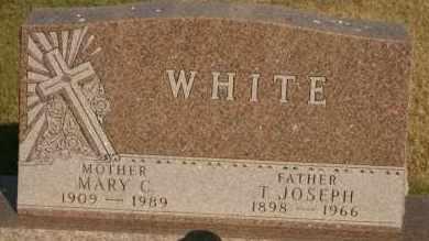 WHITE, MARY C - Lyman County, South Dakota | MARY C WHITE - South Dakota Gravestone Photos
