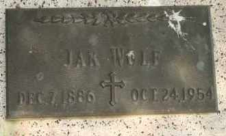WOLF, JAK - Lyman County, South Dakota | JAK WOLF - South Dakota Gravestone Photos