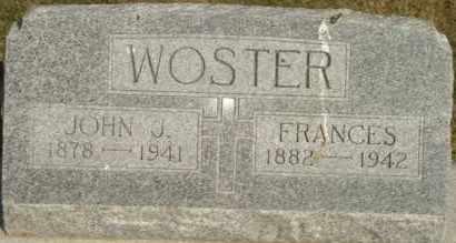 WOSTER, FRANCES - Lyman County, South Dakota | FRANCES WOSTER - South Dakota Gravestone Photos