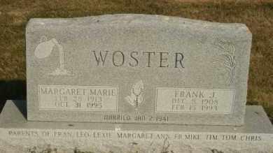 WOSTER, FRANK J - Lyman County, South Dakota | FRANK J WOSTER - South Dakota Gravestone Photos