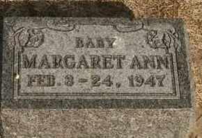 WOSTER, MARGARET ANN - Lyman County, South Dakota | MARGARET ANN WOSTER - South Dakota Gravestone Photos