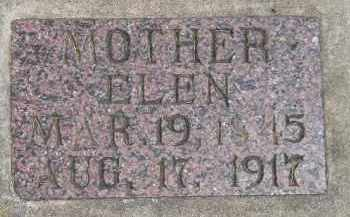ALSGAARD, ELEN - McCook County, South Dakota | ELEN ALSGAARD - South Dakota Gravestone Photos