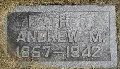 ANDERSON, ANDREW M. - McCook County, South Dakota | ANDREW M. ANDERSON - South Dakota Gravestone Photos