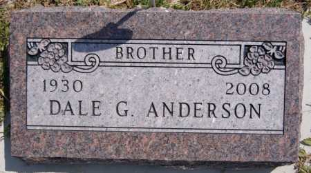 ANDERSON, DALE G - McCook County, South Dakota | DALE G ANDERSON - South Dakota Gravestone Photos