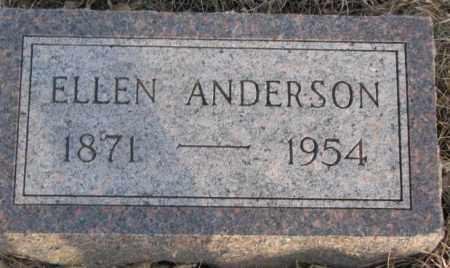 ANDERSON, ELLEN - McCook County, South Dakota | ELLEN ANDERSON - South Dakota Gravestone Photos