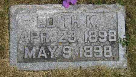 ANDERSON, EDITH K. - McCook County, South Dakota | EDITH K. ANDERSON - South Dakota Gravestone Photos