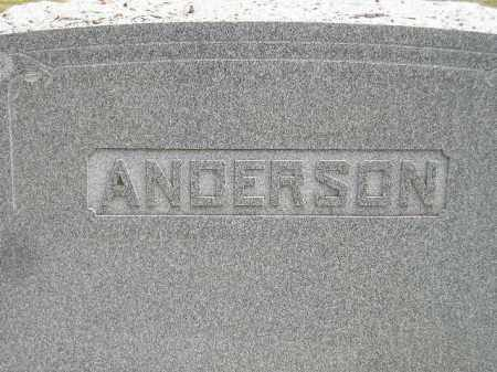 ANDERSON, FAMILY STONE - McCook County, South Dakota | FAMILY STONE ANDERSON - South Dakota Gravestone Photos