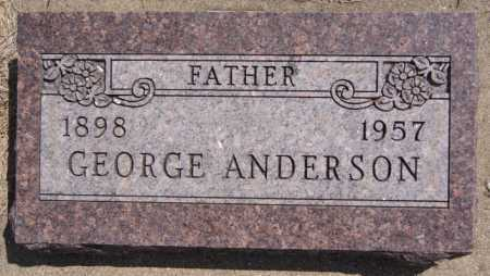 ANDERSON, GEORGE - McCook County, South Dakota   GEORGE ANDERSON - South Dakota Gravestone Photos