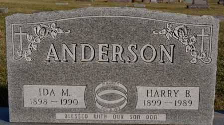 ANDERSON, HARRY B - McCook County, South Dakota | HARRY B ANDERSON - South Dakota Gravestone Photos