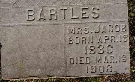 BARTLES, MRS JACOB - McCook County, South Dakota | MRS JACOB BARTLES - South Dakota Gravestone Photos