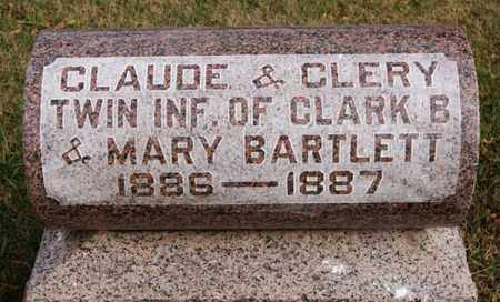BARTLETT, CLAUDE - McCook County, South Dakota | CLAUDE BARTLETT - South Dakota Gravestone Photos