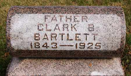 BARTLETT, CLARK B - McCook County, South Dakota   CLARK B BARTLETT - South Dakota Gravestone Photos