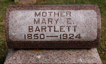BARTLETT, MARY E - McCook County, South Dakota | MARY E BARTLETT - South Dakota Gravestone Photos