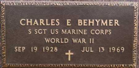 BEHYMER, CHARLES E (WW II) - McCook County, South Dakota | CHARLES E (WW II) BEHYMER - South Dakota Gravestone Photos