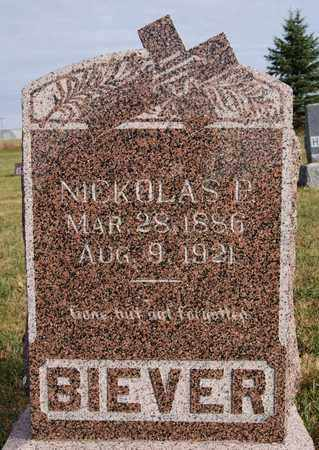 BIEVER, NICKOLAS P - McCook County, South Dakota | NICKOLAS P BIEVER - South Dakota Gravestone Photos