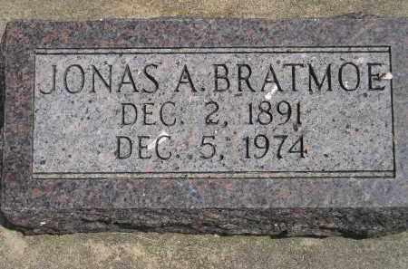 BRATMOE, JONAS A. - McCook County, South Dakota | JONAS A. BRATMOE - South Dakota Gravestone Photos