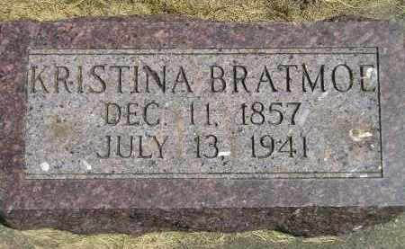 BRATMOE, KRISTINA - McCook County, South Dakota | KRISTINA BRATMOE - South Dakota Gravestone Photos