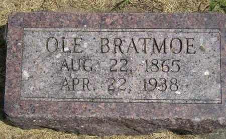 BRATMOE, OLE - McCook County, South Dakota   OLE BRATMOE - South Dakota Gravestone Photos